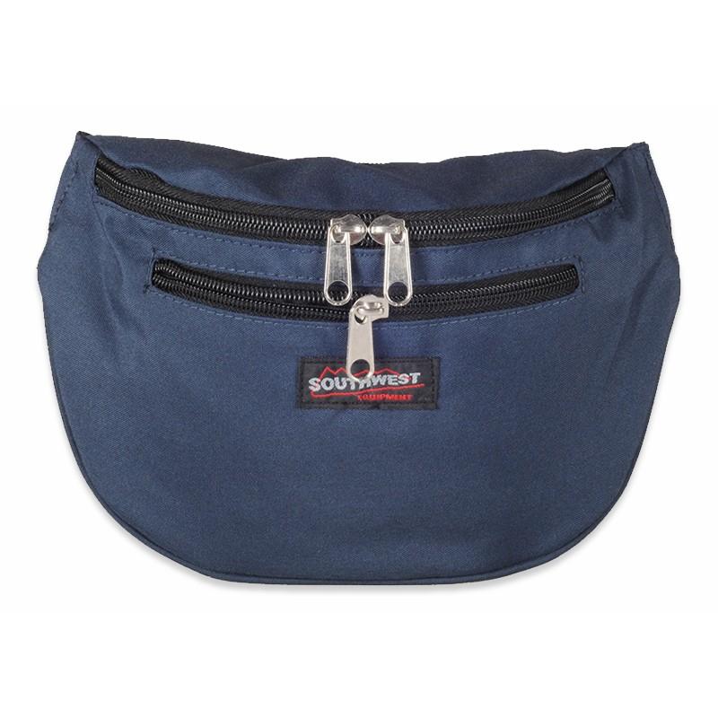 Blå Bæltetaske