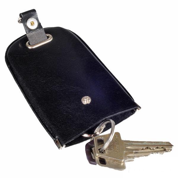 Sort Nøgleklokke / Nøglepung M