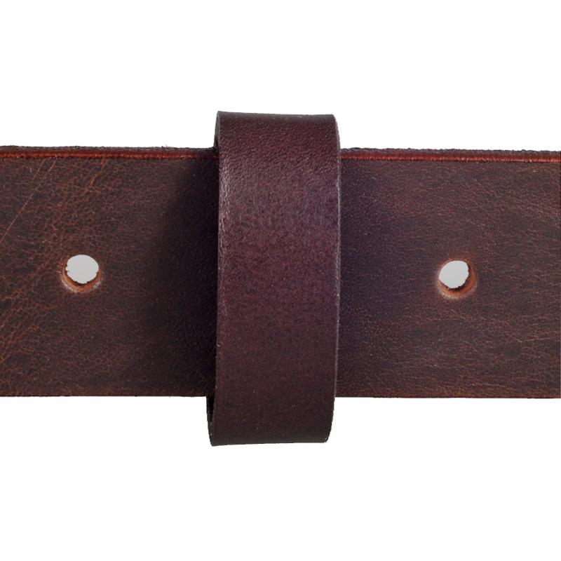 Brun læderring / trence