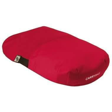 Rød Overdækken til carrybag / indkøbskurv