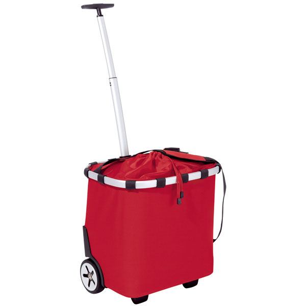 Rød Carrycruiser indkøbsvogn
