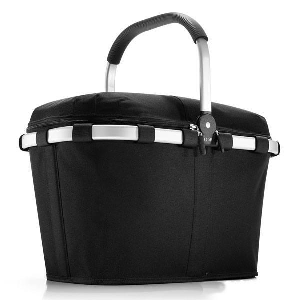 Sort ISO carrybag indkøbskurv / kølertaske