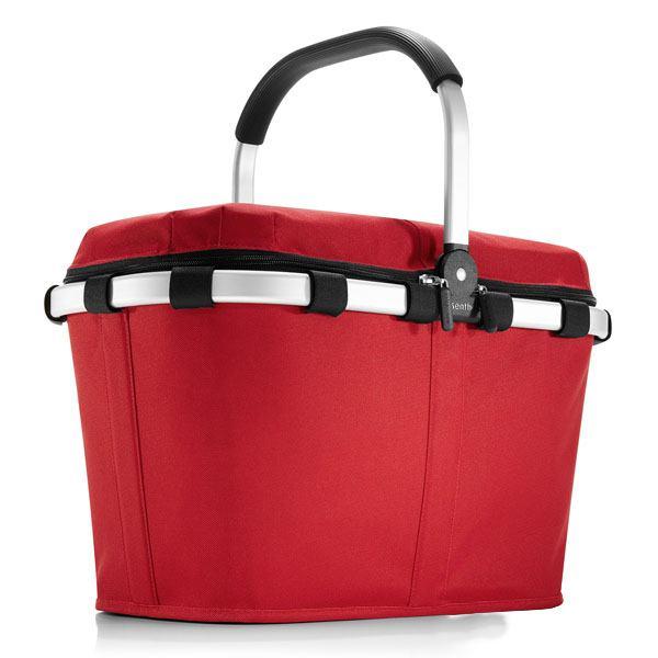 Rød ISO carrybag indkøbskurv / kølertaske