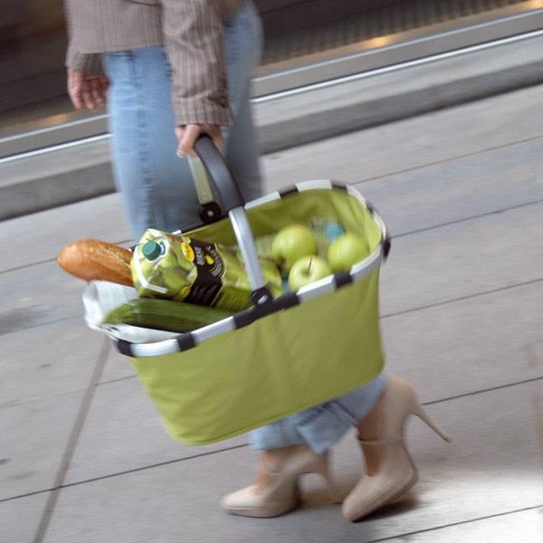 Kiwi Grøn carrybag / indkøbskurv