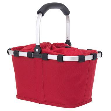Rød Small indkøbskurv / picnickurv Carrybag XS