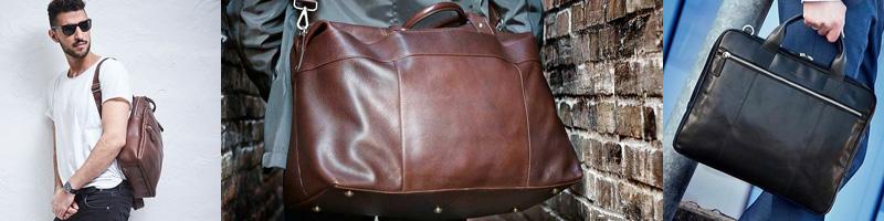 Herrväskor och läderväskor för män
