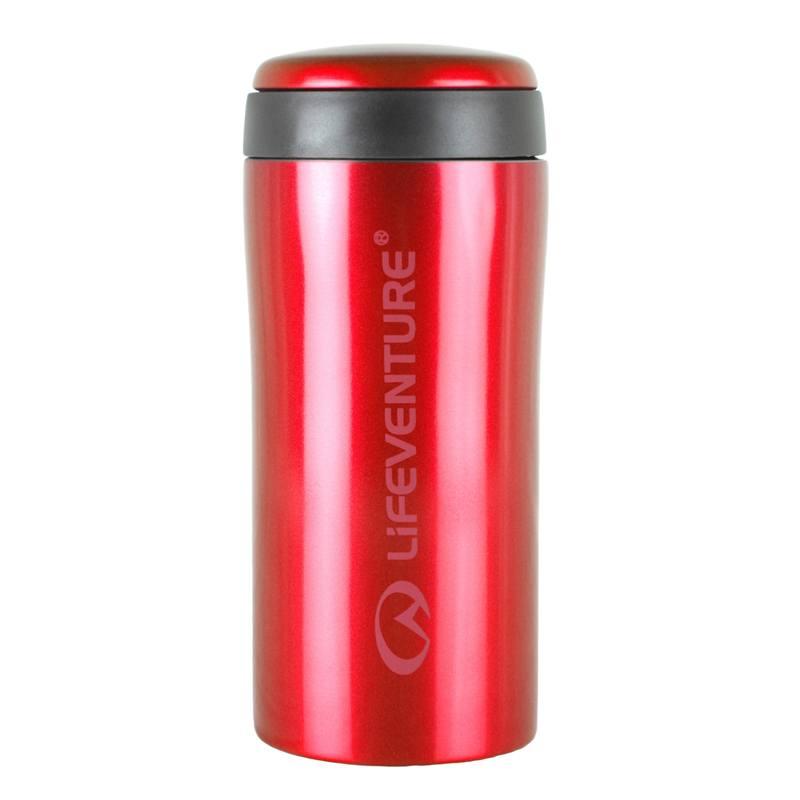 Rødt Termokrus 300 ml - Holder varmt eller koldt