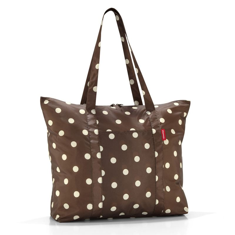 Mocha Dots Mini Maxi Travelshopper
