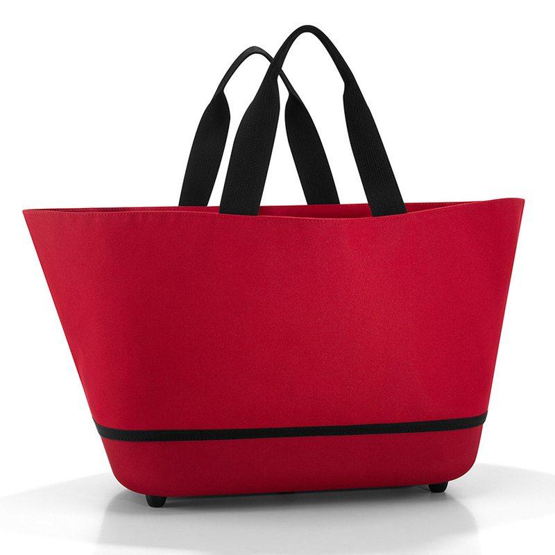 Rød Shoppingbasket - indkøbskurv