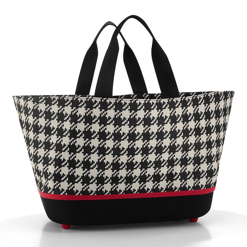 Fifties Black Shoppingbasket - indkøbskurv
