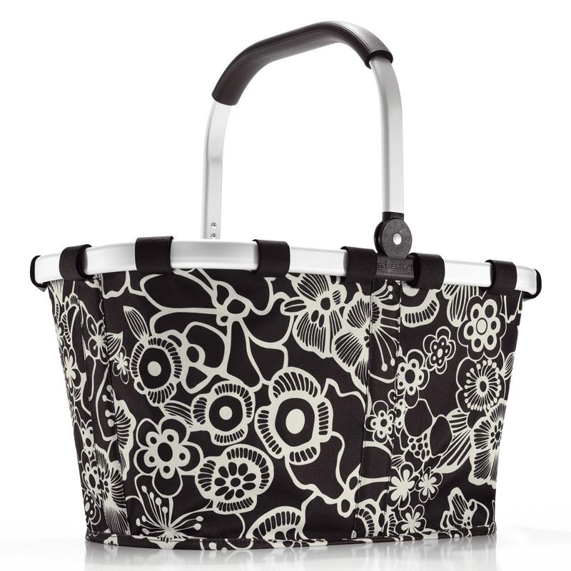 Fleur Black carrybag / indkøbskurv