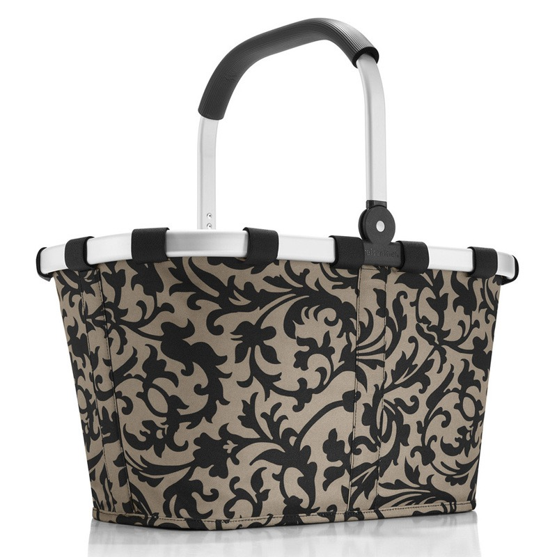 Baroque Taupe carrybag / indkøbskurv