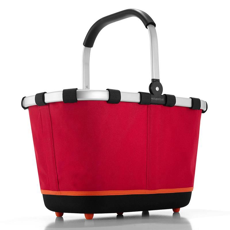 Rød Carrybag 2.0 - indkøbskurv