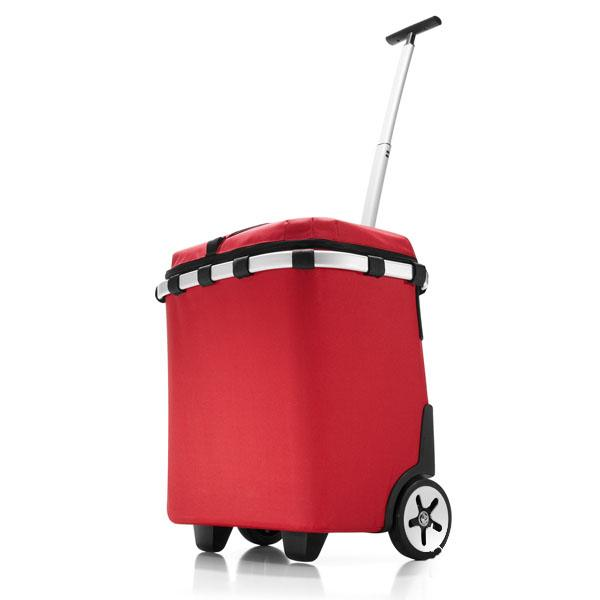Rød ISO Carrycruiser indkøbsvogn