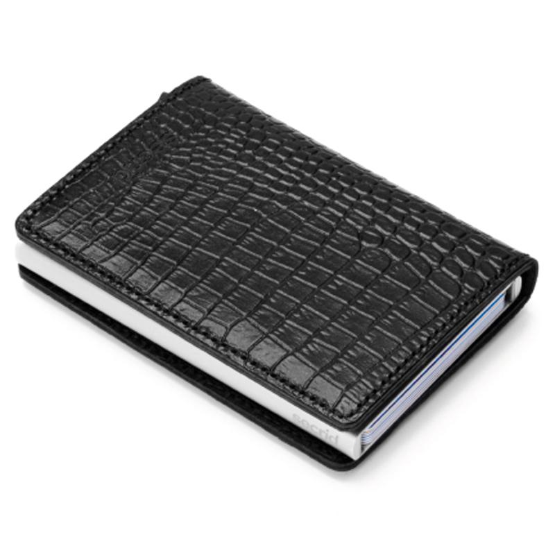 Black Amazon Slimwallet Aluminiums Pung - RFID safe