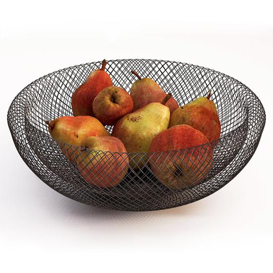 Philippi Mesh Prisvindende Skål - Frugtkurv - 40 cm
