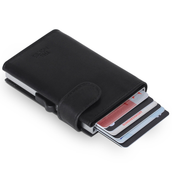 The Monte RFID-safe Sort Kortholder Pung - 7-9 kort