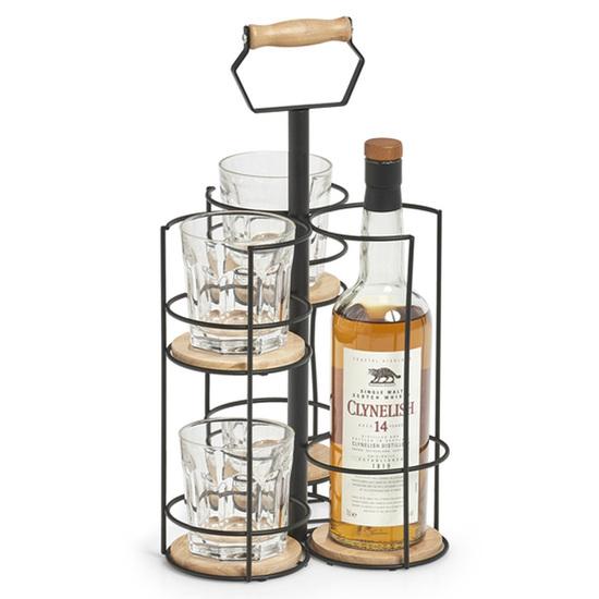 Zeller Present Flaskeholder / Glasholder