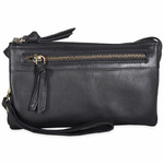 Treats Dejlig Crossbody i Sort  Kalveskind 0,6 L