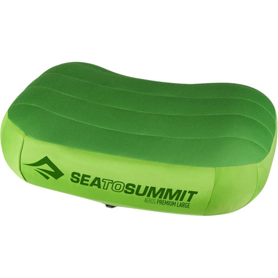 Sea To Summit Aeros Premium Grøn Oppustelig Ergonomisk Pude L