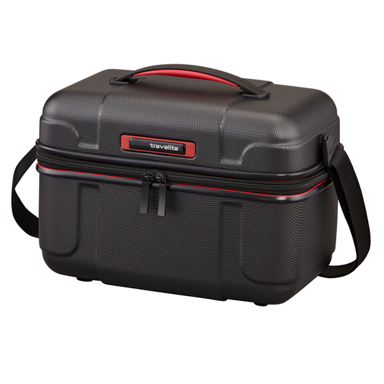 Travelite Vector Beautybox / Stor Toilettaske Sort - 20 L