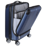 Travelite City Navy Business Kabinekuffert -4Hjul- 40X55X20 40L