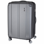 Travelite City Antrasit Kuffert 4 Hjul 49X77X32/35 - 113 / 124 L