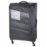 Travelite Kite Sort Letvægts Kuffert 2,9kg -47X75X29- 95L-109L