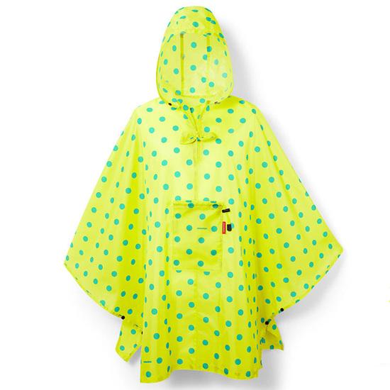 Reisenthel Lemon Dots Poncho Regnslag - One Size