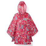 Reisenthel Paisley Ruby Regnslag Poncho - One Size