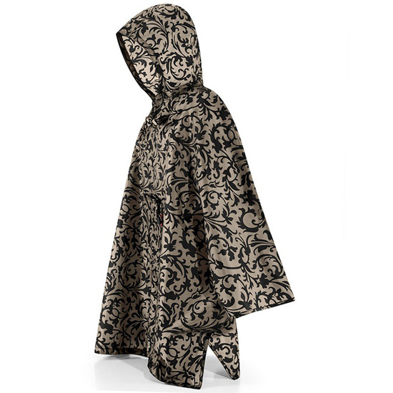 Reisenthel Baroque Taupe Poncho Regnslag - One Size