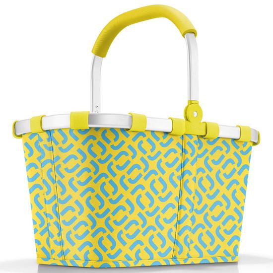 Reisenthel Signature Lemon Carrybag / Indkøbskurv 22 L