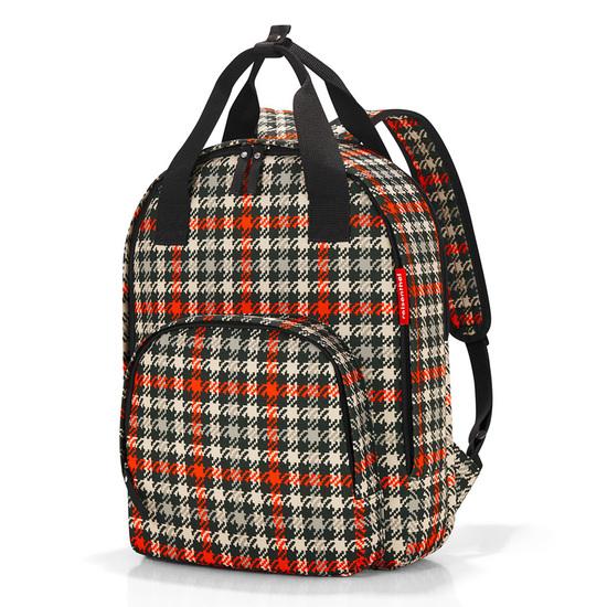 Reisenthel Easyfitbag Glencheck Red Rygsæk Skoletaske 15 L