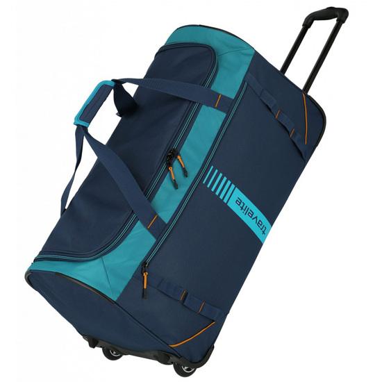 Travelite Basics Blå/Turkisblå Rejsetaske 2,4kg 71X36X35 - 86 L