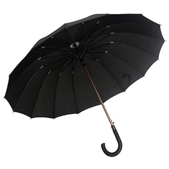 Smati Stor Paraply - Gentleman - Vindsikker - B: 114 cm