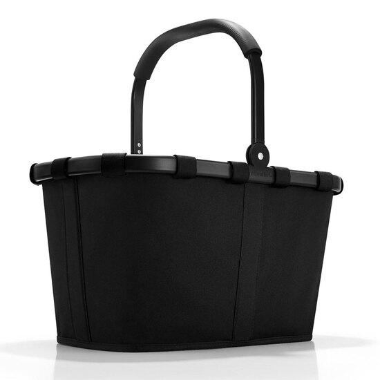 Reisenthel Sort carrybag / indkøbskurv m. Sort Ramme 22 L