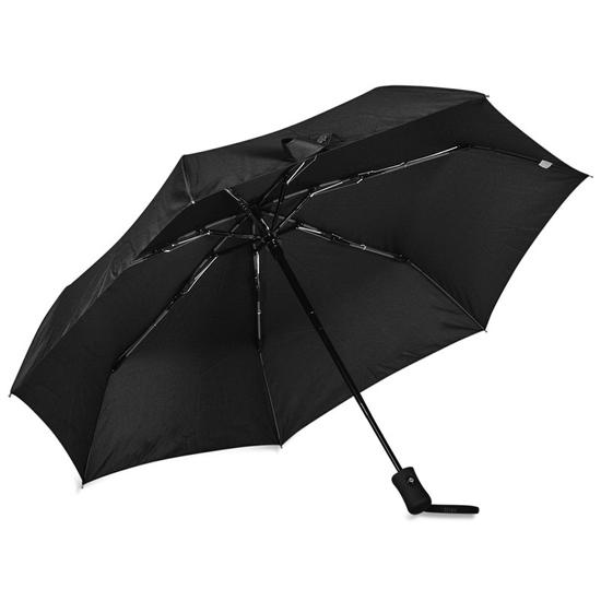 Smati Sort Paraply Vindsikker - B: 90 cm