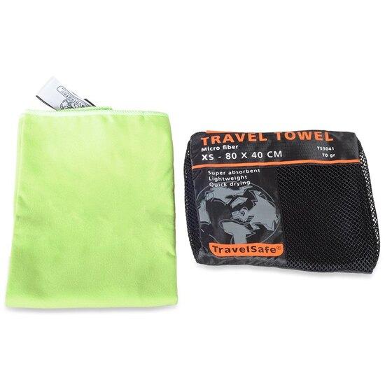 T.S. Lime Hurtigt tørrende Rejsehåndklæde 40 X 80 cm