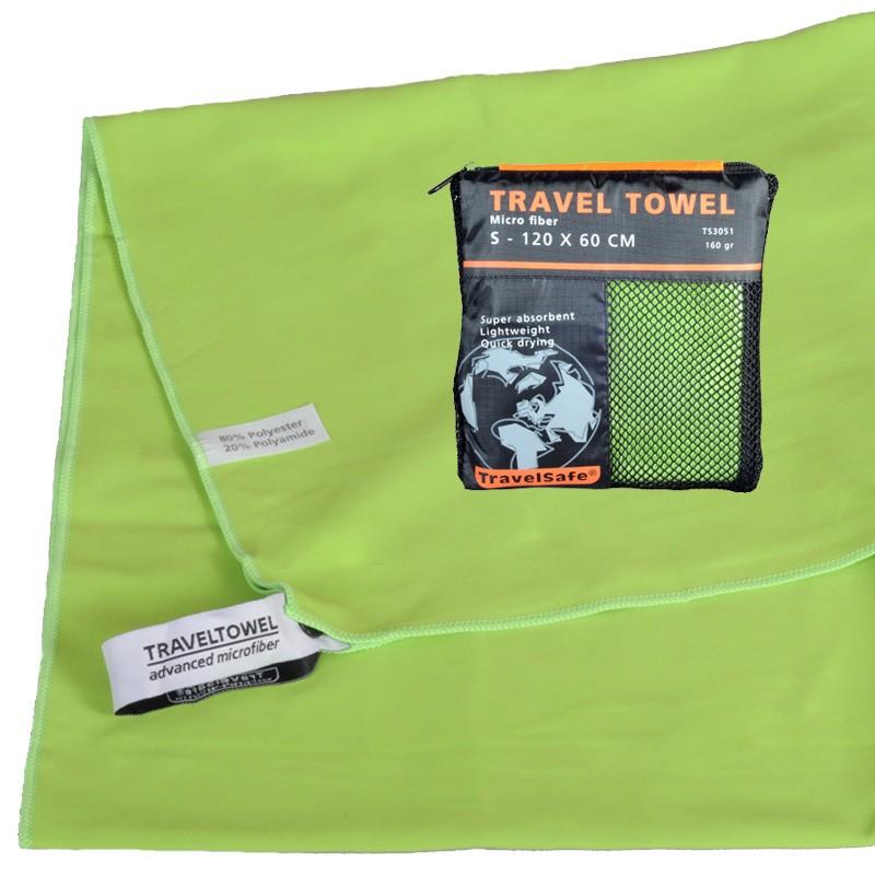 Grøn Hurtigt tørrende Letvægts Håndklæde 60 X 120 cm