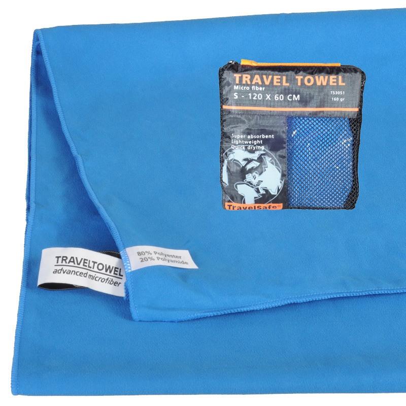 Royal Blue Hurtigt tørrende Letvægts Håndklæde 60 X 120 cm