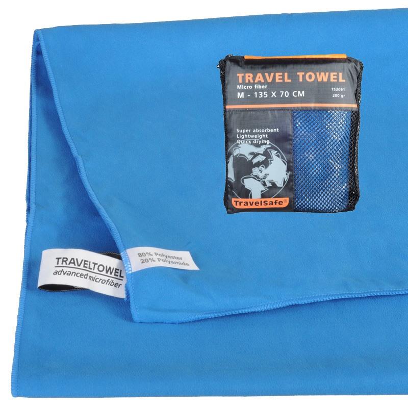 Royal Blue Hurtigt tørrende Letvægts Håndklæde 70 X 135 cm